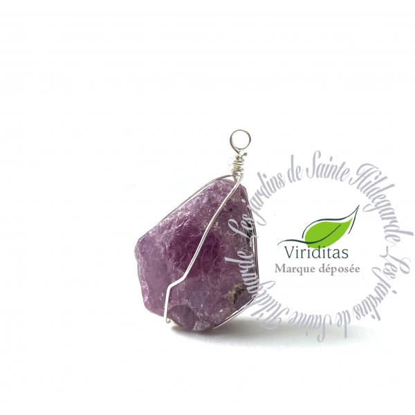 Kamienie szlachetne - Rubin kamień naturalny zawieszka, 70064
