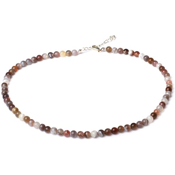 Kamienie szlachetne - Agat korale różnobarwne 6mm, 70812