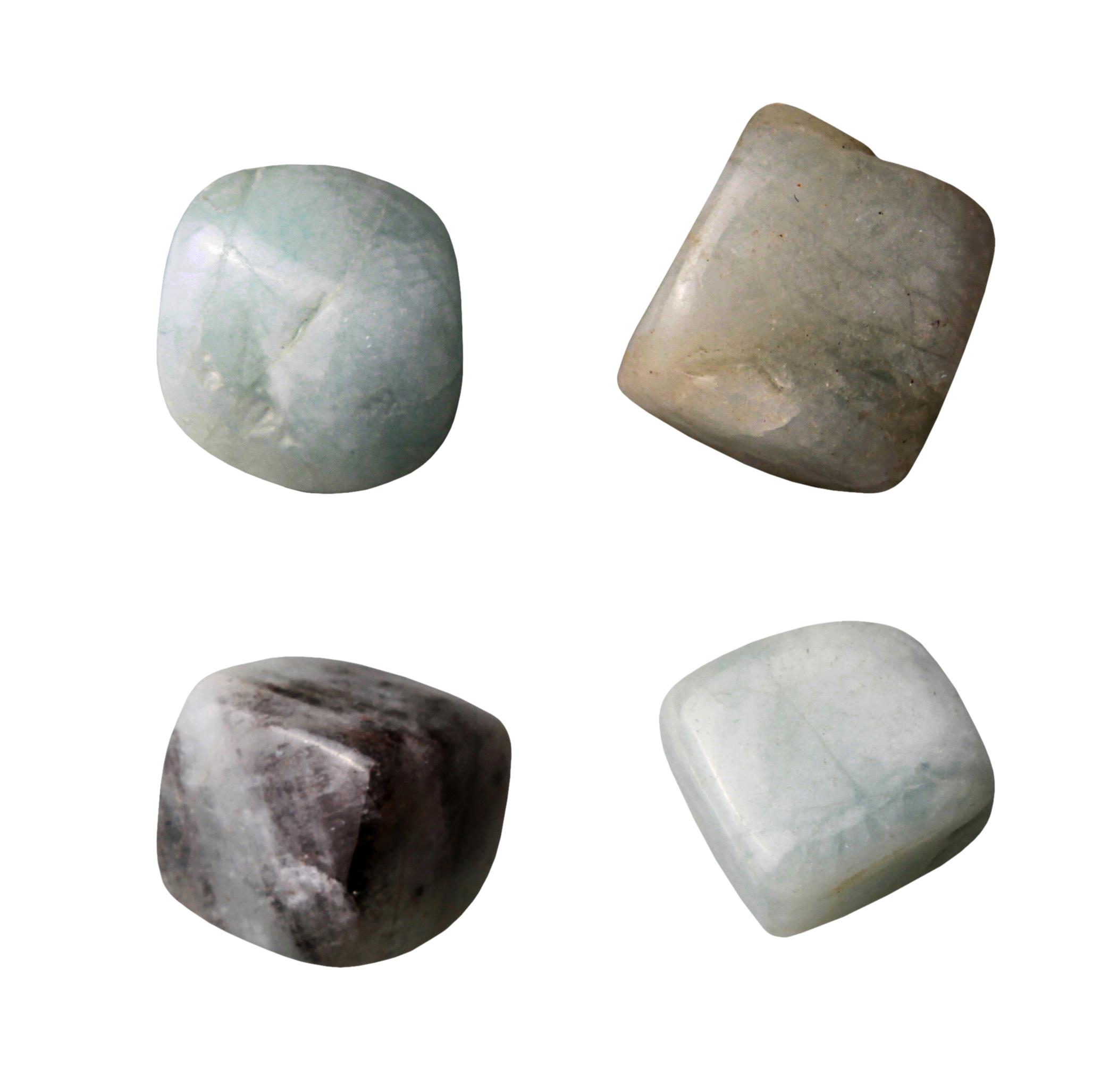 Kamienie szlachetne - Akwamaryn (beryl) polerowany, 70012