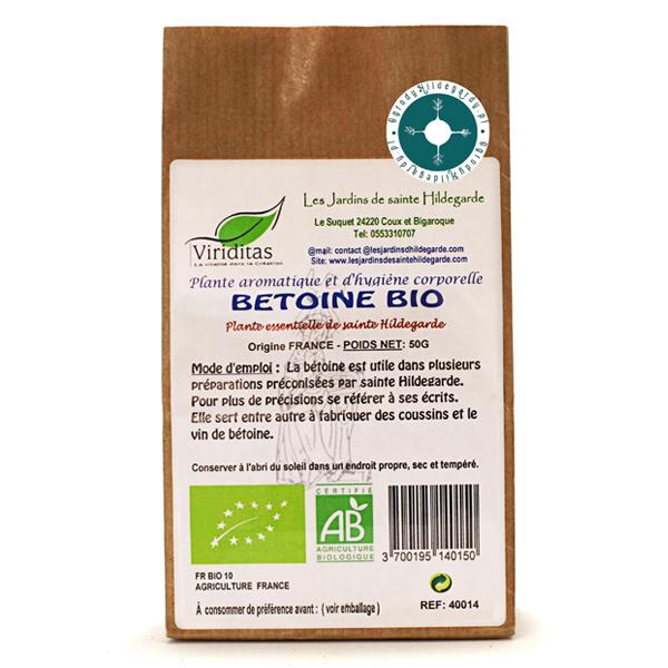 Przyprawy i zioła - Bukwica zwyczajna 50g Bio*, 40014