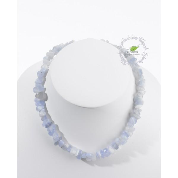 Kamienie szlachetne - Chalcedon kamień polerowany korale, 74713