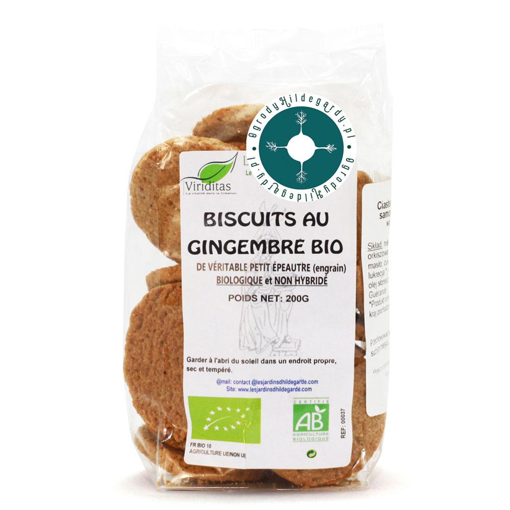Ciasteczka imbirowe z samopszy Bio 200 g*, 00037