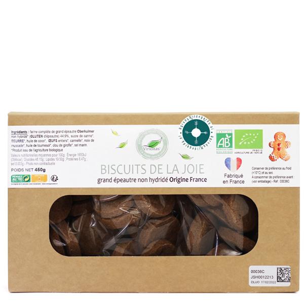 Ciasteczka orkiszowe dodające energii i radości 450 g *, 00036C