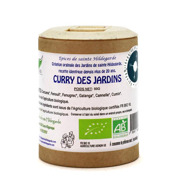 Przyprawy i zioła - Curry z ogrodów Hildegardy 50g Bio*, 60012C