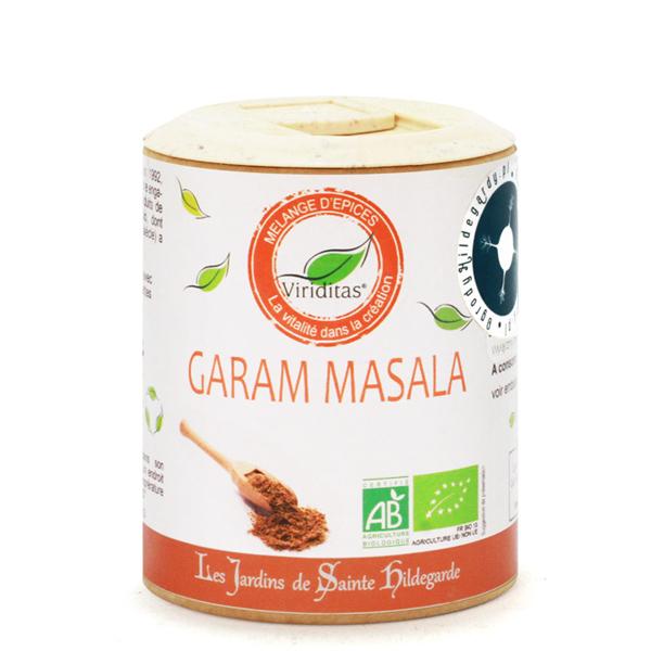 Przyprawy i zioła - GARAM MASALA 50g Bio*, 60013