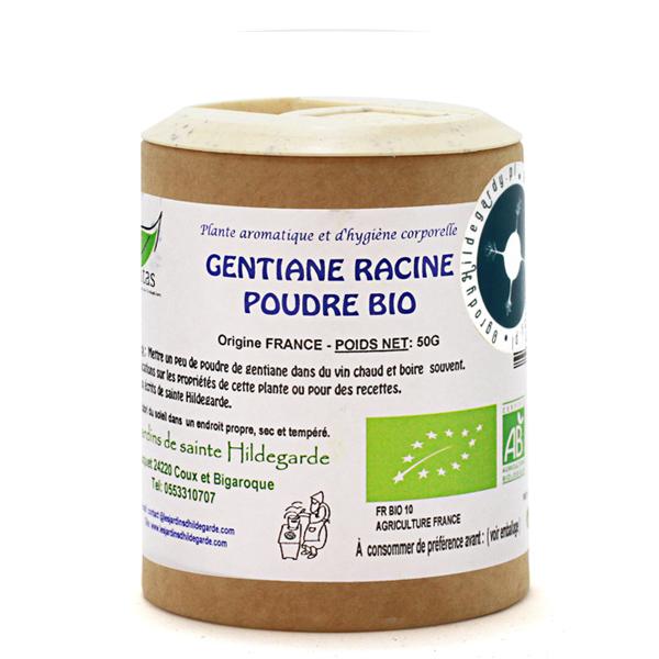 Przyprawy i zioła - Goryczka korzeń w proszku 50g Bio*, 40032p