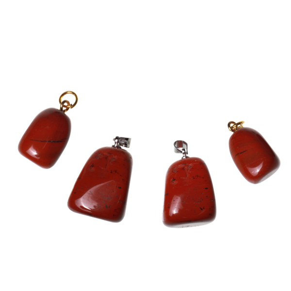 Kamienie szlachetne - Jaspis czerwony kamień polerowany zawieszka, 70047