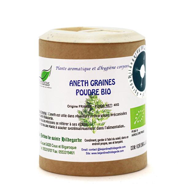 Przyprawy i zioła - Koperek ogrodowy w proszku Bio 40g*, 40007