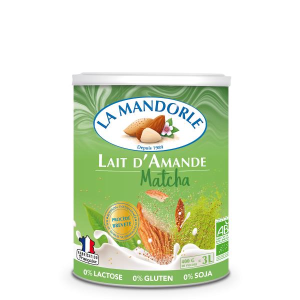 Mleko migdałowe matcha, LAM