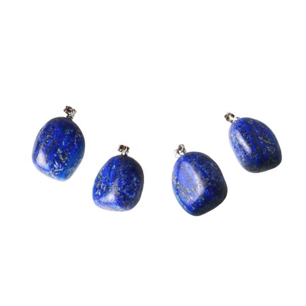 Kamienie szlachetne - Lapis lazuli kamień polerowany zawieszka, 78062
