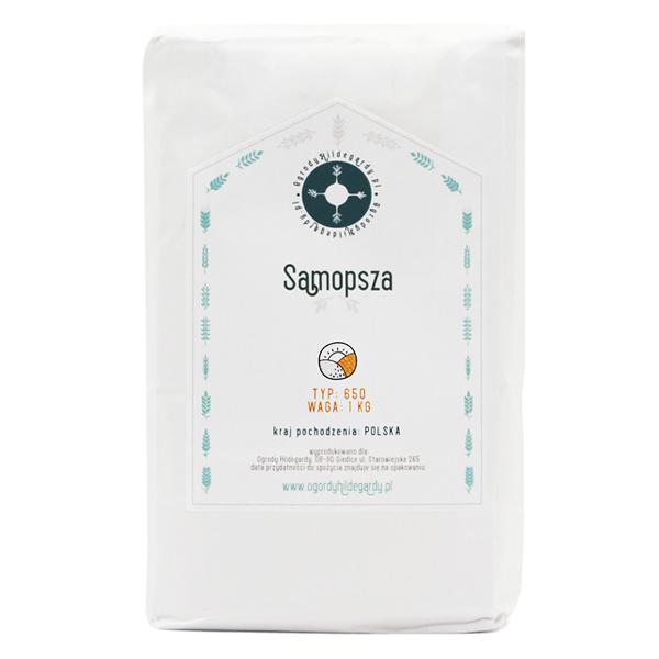 Mąka orkiszowa - Mąka typ 650 Samopsza 1kg, PL6501