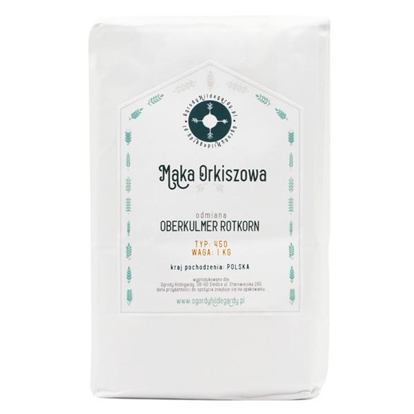 Mąka orkiszowa - Mąka typ 450 Orkisz 1 kg, PL4501