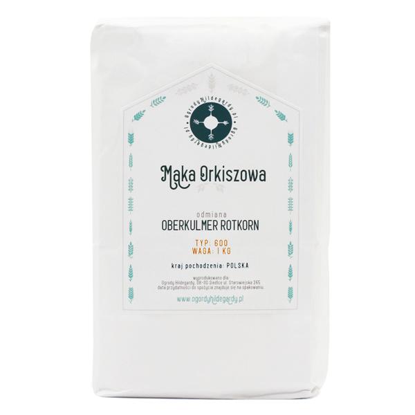 Mąka orkiszowa - Mąka typ 600 Orkisz Oberkulmer 1 kg, PL6001