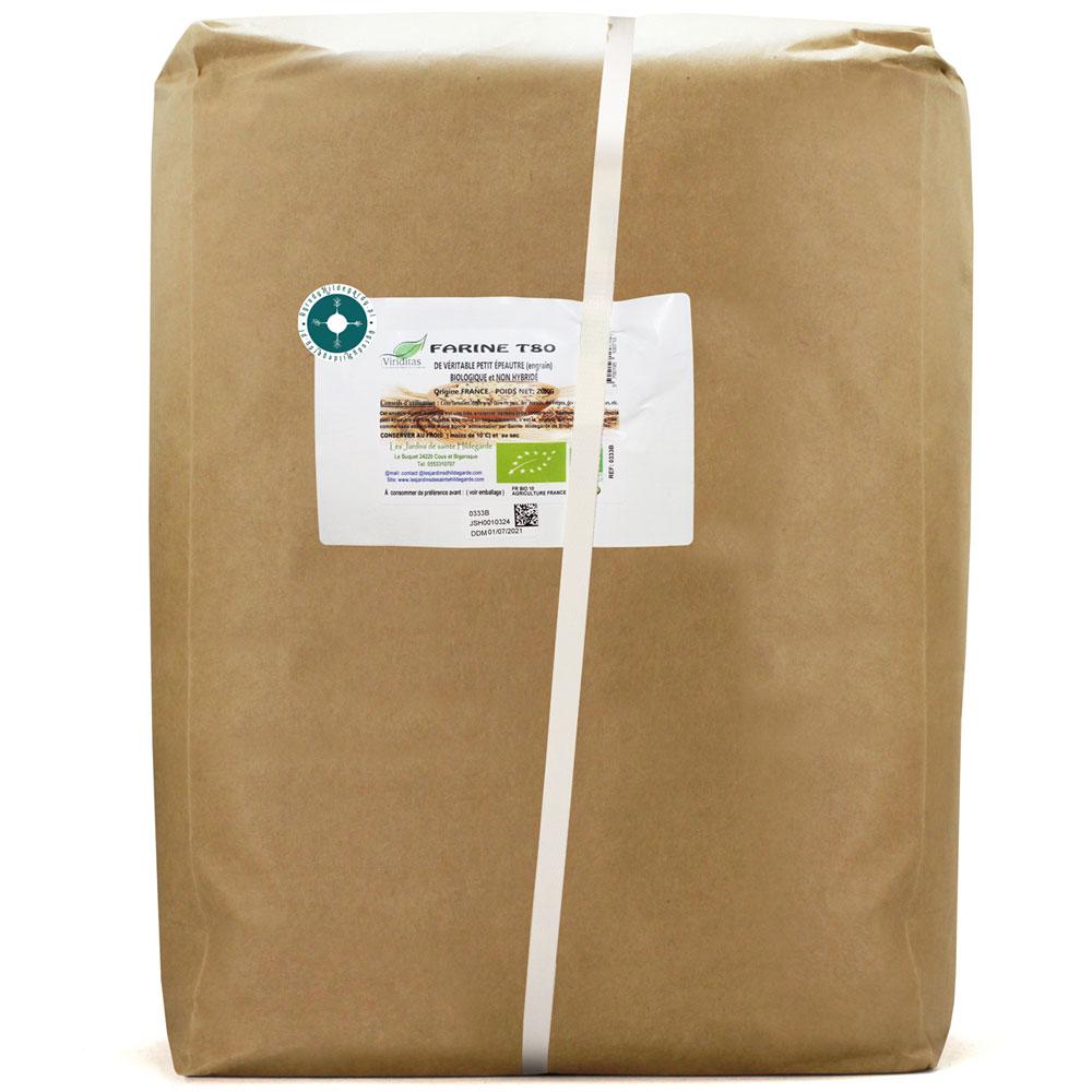 Mąka orkiszowa - Mąka Typ 800 Samopsza BIO 20kg*, 0333B