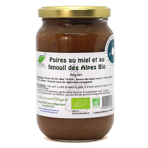 Przyprawy i zioła - Mieszanka z wszewłogą - miód gruszkowy (gotowy do spożycia) Bio*, E0041