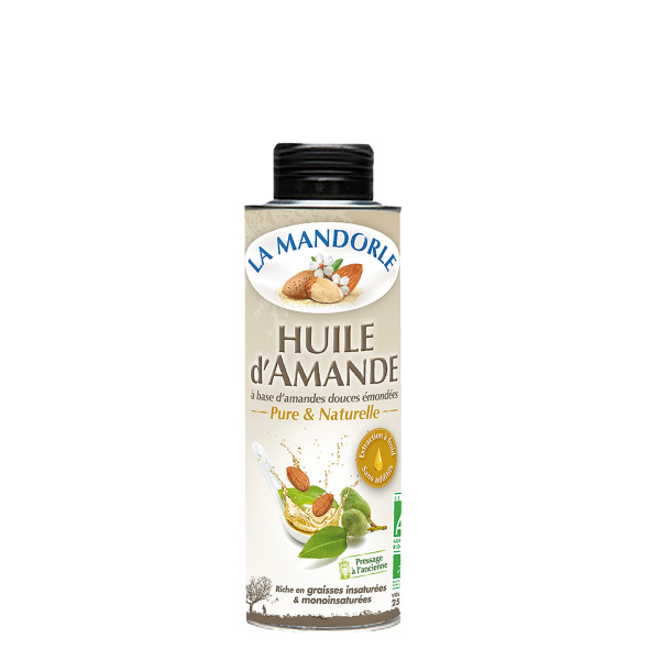Olej ze słodkich migdałów organicznych