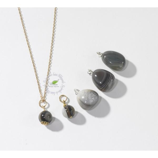 Kamienie szlachetne - Sardonyks kamień polerowany zawieszka, 70073