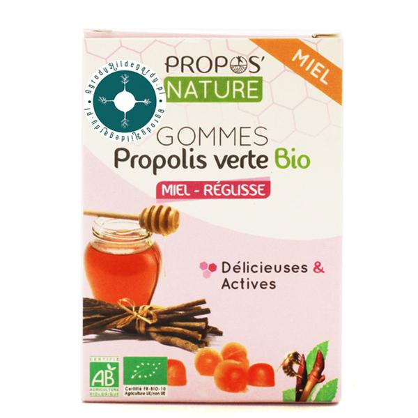 Produkty pszczele - Żelki zielony propolis z miodem i lukrecją 45g Bio*, 67011