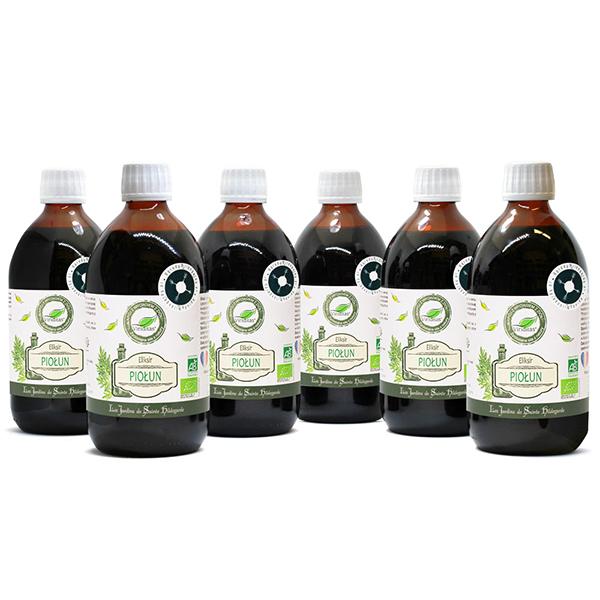 Zestaw napojów piołunowych Bio* - 6 sztuk, ELF11_set_6pcs