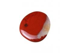 Kamienie szlachetne - Jaspis czerwony polerowany płaski, 71046