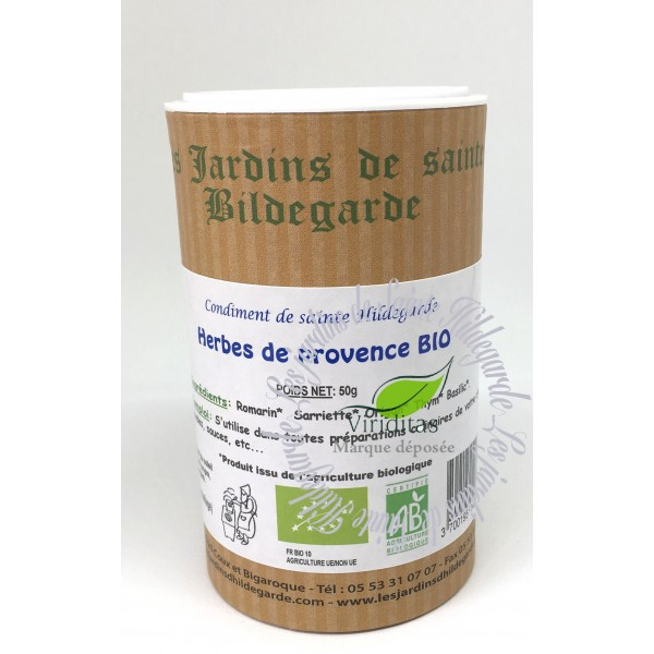 Przyprawy i zioła - Zioła prowansalskie 50g Bio*, 40087 - -(40087)